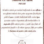 Trattoria La Ruota 1968 - 2018